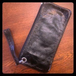 Black Hobo clutch wallet